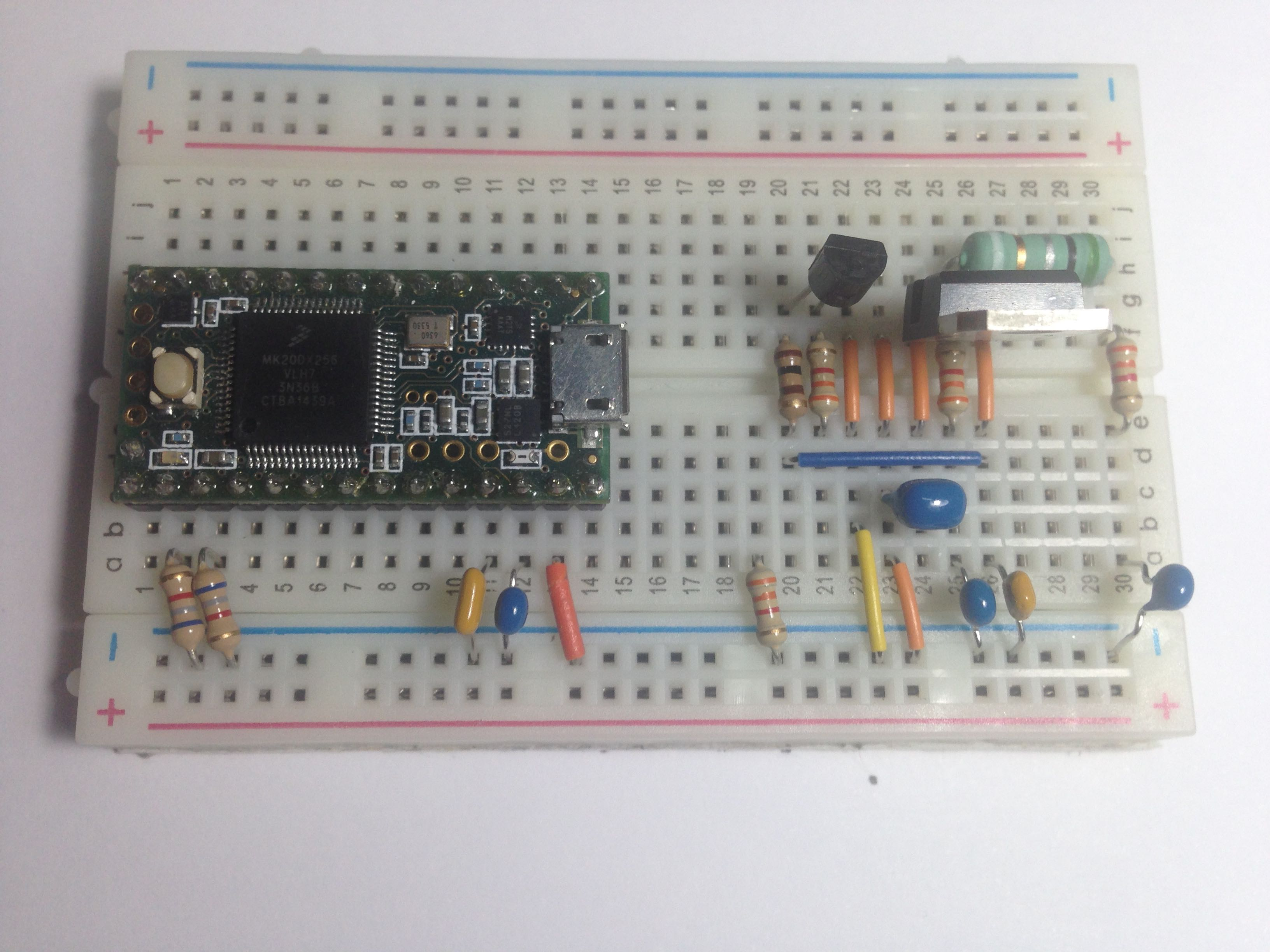 Lab01 Components That Are Required To Build This Circuit Listed Below Then With All Motorled Potentiometer Integrated In You Should Have A System Which Looks Like The Following